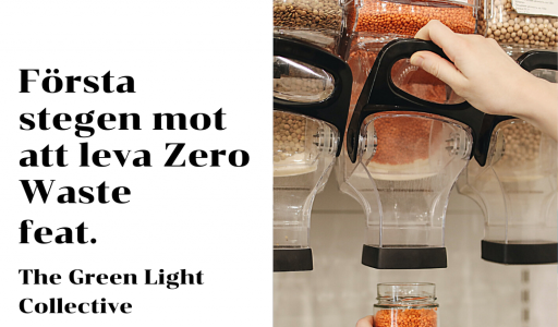 Första stegen mot att leva Zero Waste - The Green Light Collective